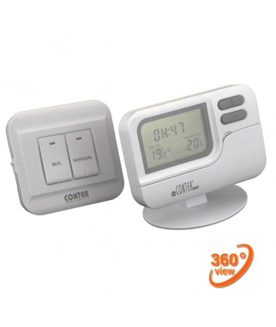 Termostat ambient wireless (fara fir) programabil  Conter T7W